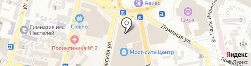 S-optica на карте Днепропетровска