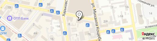 Югинтертранс на карте Днепропетровска