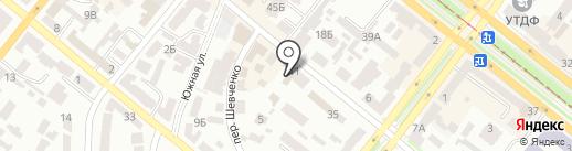 Кайф на карте Днепропетровска
