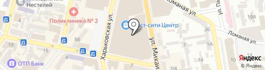 Премьер, ЧП на карте Днепропетровска
