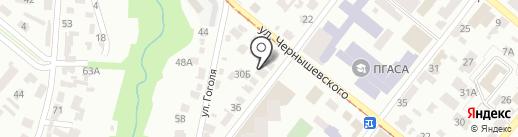 Гарант Метиз Инвест, ЧАО на карте Днепропетровска