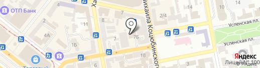 Esperanto Cafe на карте Днепропетровска