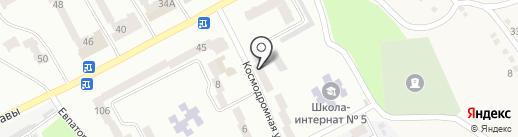 Альфа-сталь на карте Днепропетровска