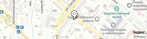 Упи Капитал на карте Днепропетровска