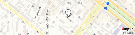 Днепрооблагропромстрой на карте Днепропетровска