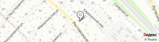 Днепропетровский завод промышленного оборудования на карте Днепропетровска