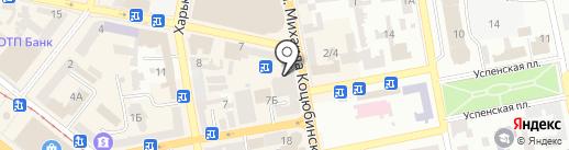 ВарианТ на карте Днепропетровска
