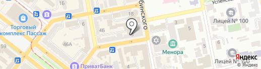 Колорит-Тур на карте Днепропетровска
