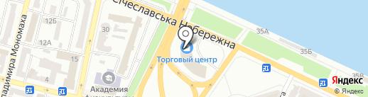 Океанія на карте Днепропетровска