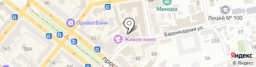 Woman на карте Днепропетровска