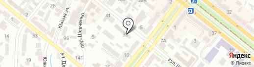 Нотариус Заря Н.Г. на карте Днепропетровска