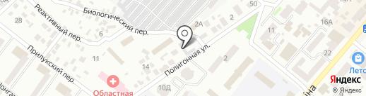 Відділ комунального господарства Жовтневої районної у м. Дніпропетровську ради на карте Днепропетровска