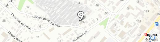 МИОС на карте Днепропетровска