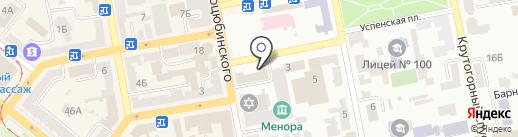 Дніпропетровська міжрайонна прокуратура з нагляду за додержанням законів у природоохоронній сфері на карте Днепропетровска