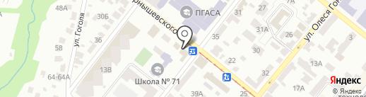 СЭМ на карте Днепропетровска