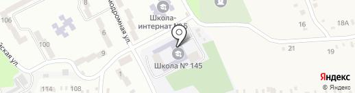 Ліцей з посиленою військово-фізичною підготовкою на карте Днепропетровска