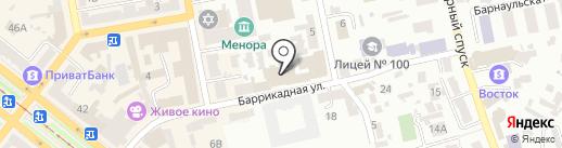 soGLASSie на карте Днепропетровска