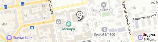 ИКЦ на карте Днепропетровска
