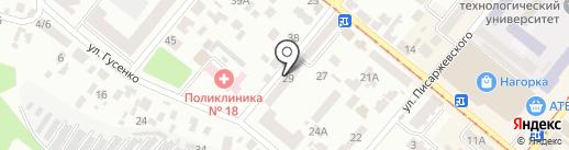 Канцтовары на карте Днепропетровска