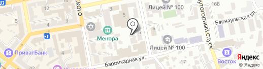 Экопрон-юг на карте Днепропетровска