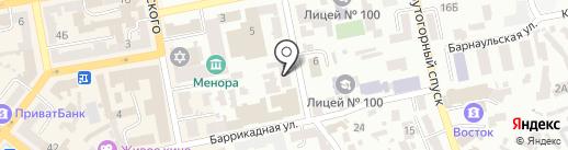Страховая компания на карте Днепропетровска