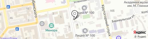 Днепропетровская трубная компания на карте Днепропетровска