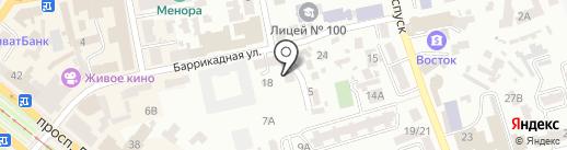 Art people на карте Днепропетровска