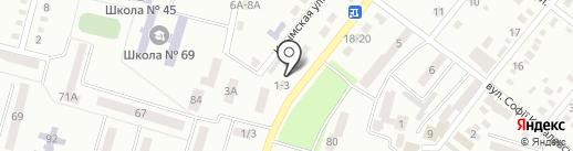 ГазСервис на карте Днепропетровска