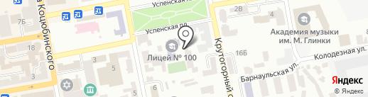 Виджая на карте Днепропетровска