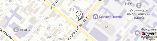 Металл на карте Днепропетровска