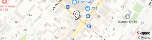 Belosvet на карте Днепропетровска