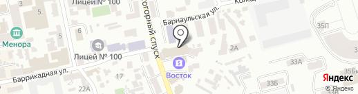 Инсам на карте Днепропетровска