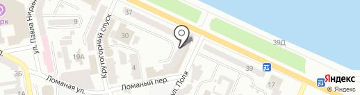 Dostup на карте Днепропетровска