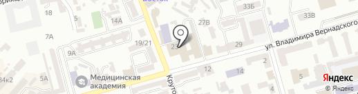 Днепропетровское областное отделение национального олимпийского комитета Украины на карте Днепропетровска