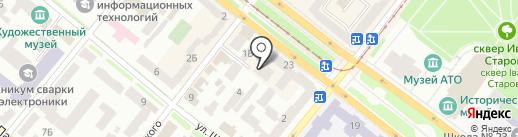 Технострим, ТОВ на карте Днепропетровска