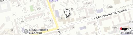 Центральная государственная научно-техническая библиотека на карте Днепропетровска