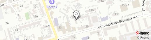 Міський шахово-шашковий клуб ім. Й. Уріха на карте Днепропетровска