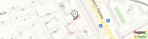 Амбулаторія №7-8 на карте Днепропетровска