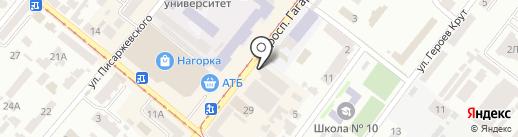 Dnepr Mafia Clan на карте Днепропетровска