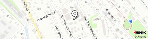 ДИНАРИС и К на карте Днепропетровска