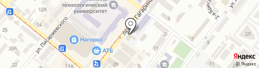 Паркет на карте Днепропетровска