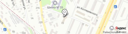 Украгролізинг на карте Днепропетровска