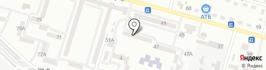 Волшебный ребенок на карте Днепропетровска