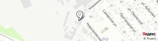 Лес и сад на карте Днепропетровска