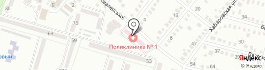 Дніпропетровська міська клінічна лікарня №9 на карте Днепропетровска