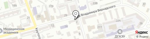 La Novia на карте Днепропетровска