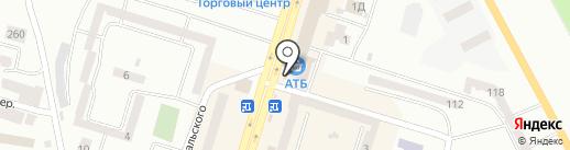 Гаврилівські курчата на карте Днепропетровска