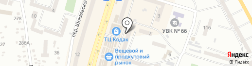 Роксолана на карте Днепропетровска