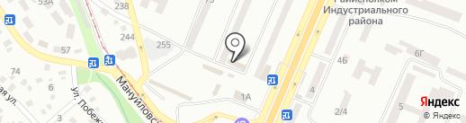 Мед-сервис на карте Днепропетровска