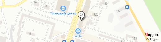 Confetti на карте Днепропетровска